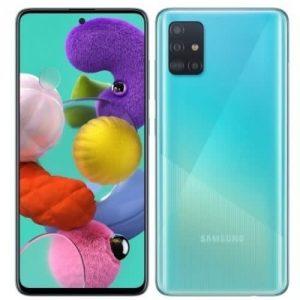 Samsung A51-dual -cyan/blue 128gb Rom - 4gb Ram - 4g Lte - 6.5''- 48mp - 4000 Mah DiscountsHub