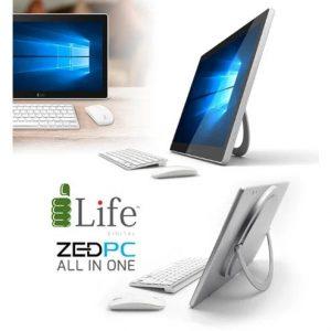 "i-Life Zed Portable All-in-one - 17.3"" Intel Celeron - 2.4GHZ- 2500mAh - Silver discountshub"
