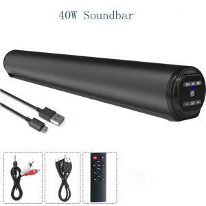 40W SoundBar TV Home Theater System 3D Hifi Stereo Surround discountshub