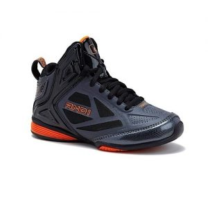 And1 Boy's Athletic Laceup Shoes - Black discountshub