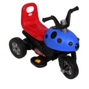 Babyland Electric Cool Motorbike - Red/ Blue discountshub