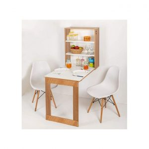Foldable Wall Mounted Study Or Dining Table Storage Cabinet discountshub