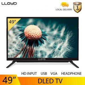 LLOYD LLoyd TV 49inch With Free Bracket Black One Years Warranty discountshub