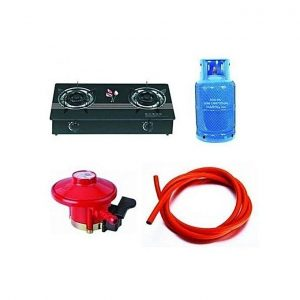 Quality Standard 12.5kg Gas Cylinder, Top Gas Cooker And Yards Hose With Regulator discountshub