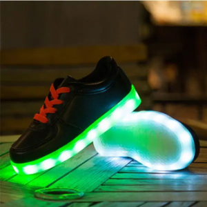 Unisex Children LED Light Lace Up Casual Sneakers discountshub