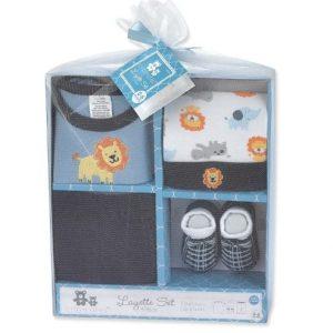 Crib Mate Baby Boy Gift Set - 4 Piece discountshub