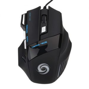 3200 DPI 7 Button 7D LED Optical USB Wired Gaming Mouse discountshub