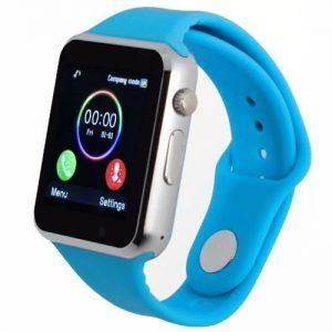 A1 Smart Phone Watch With Camera + Sim & SD Card Slot - Blue discountshub