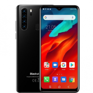 Blackview A80 Pro 6.49'' Waterdrop 4GB + 64GB Smartphone Helio P25 Octa Core Android 9.0 Global Version 4G Mobile Phone 4680mAh discountshub