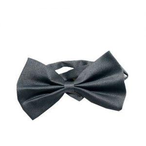 Boys Bow Tie - Grey discountshub