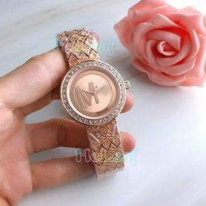 Fashion Gold Silver Stainless Women Watch Quartz Wrist Watches Ladies Girls Famous M Brand Female Clock Montre Femme reloj discountshub