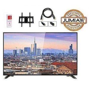 Horizon 32 Inches Full HD LED TV + Free Wall Hanger + Power Guard + HDMI Cable discountshub