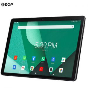 New Tablet Pc 10.1 inch Android 9.0 Tablets Octa Core Google Play 3g 4g LTE Phone Call GPS WiFi Bluetooth Tempered Glass 10 inch discountshub