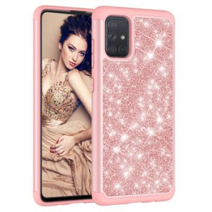 Shockproof Case for Samsung A51 Case Bling Shiny Back Cover for Samsung Galaxy A71 Case Samsung A 51 A 71 A11 A21 01 Bumper Case discountshub