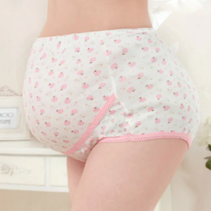 Soft Cotton Comfy High Waist Support Women Maternity Underwear discountshub
