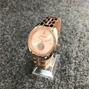 michael korsing Quartz Wrist Dress Women Watches Silver Bracelet Ladies Watch Stainless Steel Clock Casual Waterproof Watch discountshub