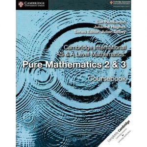 Cambridge International AS & A Level Maths:Pure Maths 2&3 Coursebook discountshub