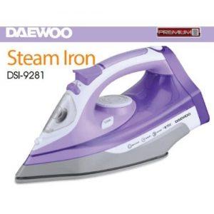 Daewoo Steam Iron Dsi-9281 discountshub