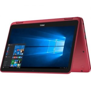 Dell Inspiron 11 3000 Series - 11.6'' - 500GB 4GB - Multi-touch 2-in-1 Notebook - Red discountshub