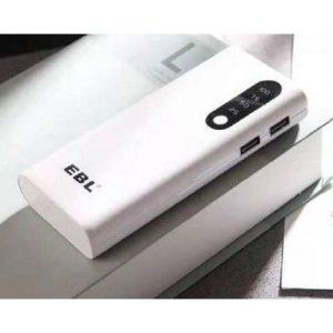 Ebl 12,000mAh EBL Power Bank With Dual Port - White discountshub