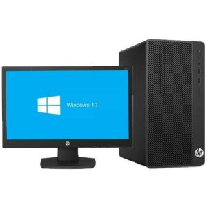 "HP Hp 290 G3 Desktop Intel Core I3 4gb Ram 1tb Hdd + 18.5"" Monitor Free Dos discountshub"