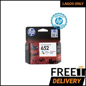 Hp 652 Tri-color Ink Advantage Cartridge - F6V24AE BHL discountshub
