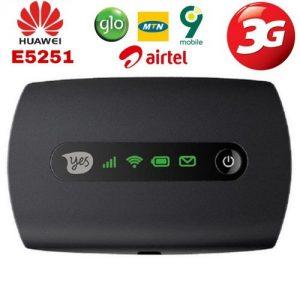 Huawei Universal Pocket Mobile WiFi For Airtel,MTN,9Mobile & Glo discountshub