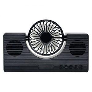 ITK 6601BK Deep Bass Sound Mini Bluetooth Speaker Fan Speaker discountshub