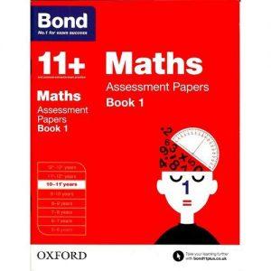 Jumia Books Bond 11+: Maths: Assessment Papers Book 1 discountshub