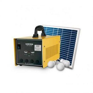 Saroda Portable All In One Hybrid Solar Power System -100W Inverter discountshub