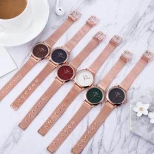 Simple Casual Women Wristwatch Full Alloy Waterproof Waterproof Quartz Watches discountshub