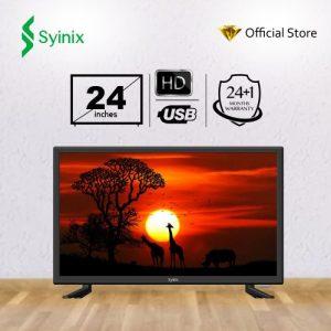 """Syinix 24"""" Inch HD LED TV discountshub"""