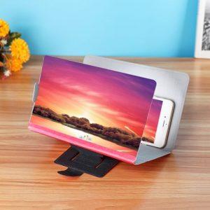 8Inch 3D Enlarge Magnifier HD Screen Amplifier Folding Stand discountshub