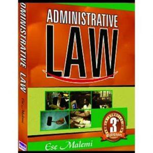 Administrative Law Third Edition By Ese Malemi discountshub