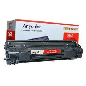 Anycolor 36A Black LaserJet Toner Cartridge - CB436A discountshub