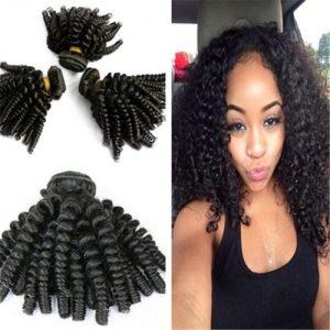 Bouncy Curly Funmi Hair, 4 Bundles discountshub