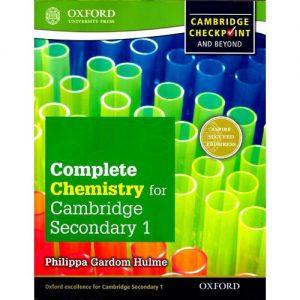 Cambridge Complete Chemistry For Cambridge Secondary 1 Student Book discountshub