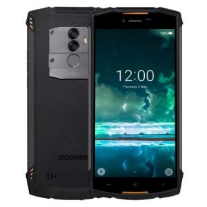 Doogee S55 Triple Proofing Phone 4GB+64GB 5500mAh Battery 5.5 Inch Android 8.0 MTK6750T Octa Core 4G Dual (Orange) discountshub
