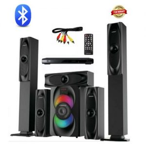 Emgold Bluetooth Home Theater Sound System With Dvd discountshub