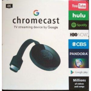 Google Chromecast Digital HDMI Streamer Wifi Display Receiver TV Dongle discountshub