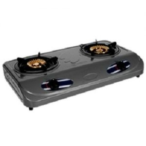 Haier Thermocool 2 Burner Non-stick Table Top Gas Cooker discountshub