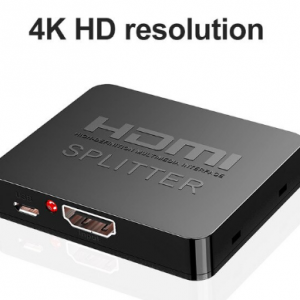 Hdmi Splitter 1 in 2 out 1080p 4K 1x2 1x4 HDCP Stripper 3D Splitter Power Signal Amplifier HDMI Splitter For HDTV DVD PS3 Xbox discountshub