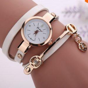 Ladies Casual Wristwatch - Beige discountshub