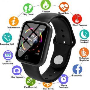 New I5 Smart Watch Women Men Smartwatch For Android IOS Electronics Smart Clock Fitness Tracker discountshub