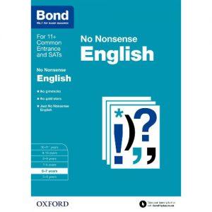Oxford Bond No Nonsense English - 5-6 Years discountshub
