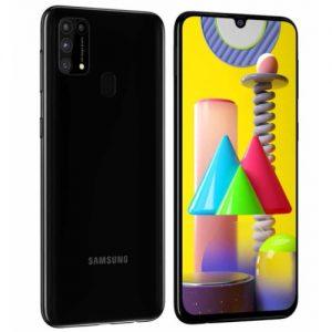 """Samsung M31- 6.4""""- Dual Sim - 128GB ROM - 6GB RAM - 4G LTE - 6000mAh - 64mp - Fingerprint - Black discountshub"""