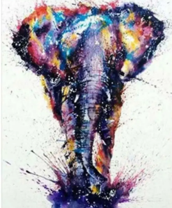 5D Diamond Painting Elephant Crystal Embroidery Cross Stitch Paint Home Decor discountshub