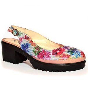 Amaros Ladies Platform Sandal- Multicolour discountshub