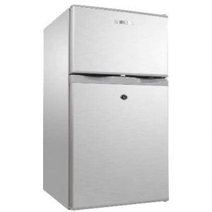 Bruhm 100 Lts Silver Double Door Reffrigerator - Brd-105 discountshub