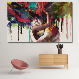 Canvas Print Room Wall Art Pictures Home Decor Abstract Couple Painting discountshub